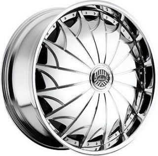 32 DAVIN REVOLVE SPINNERS Devious WHEEL SET 32x10 RIMS 5 6 8 Lug
