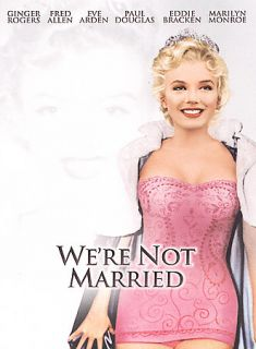 Were Not Married DVD, 2004, Marilyn Monroe Diamond Collection