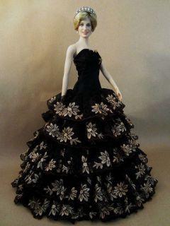 Outfit Dress Franklin Mint Princess Diana Vinyl 16 Doll Marilyn