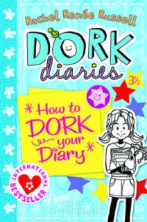 NEW How to Dork Your Diary by Rachel Renee Russell Paperback Book
