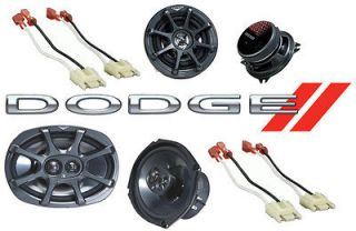 DODGE RAM 94 01 EXT CAB TRUCK KS6930 KS5250 FACTORY COAXIAL SPEAKER