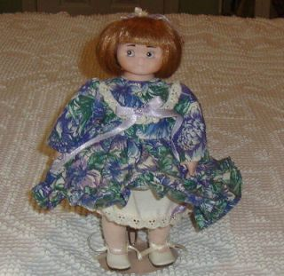 Sweet Porcelain Goebel Dolly Dingle Doll By Bette Ball   Signed Exc