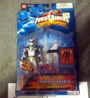 power rangers dino thunder white ranger toys