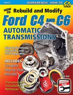 How To Rebuild & Modify FORD C4 & C6 Automatic Transmission, Stock