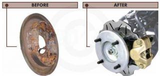 HONDA ATV Quadrax Front Disc Brake kit Conversion Kit
