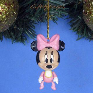Ornament Xmas Tree Home Decor Disney Mickey Minnie Mouse Baby *A243