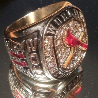St Louis Cardinals 2011 World Series Champions Replica Ring NIB