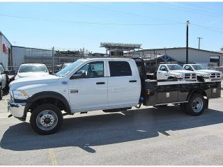 Dodge  Ram 4500 4WD Crew Cab HD Cab & Chassis Dually Flat Bed Leather