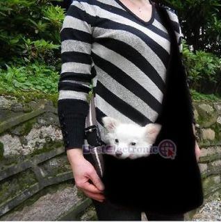 Black Carrier Bag Single shoulde​r Bag Oxford Cloth for Pet Dog Cat