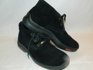 Dolomite Black Suede Ankle Boots, Shoes  13