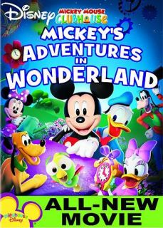 Mickey Mouse Clubhouse Mickeys Adventures In Wonderland (D