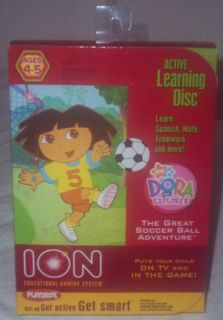 NICK JR PLAYSKOOL HASBRO ION DORA THE EXPLORER GAME