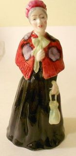 Bone China Staffordshire England Hand Made & Painted DOROTHY Figuine