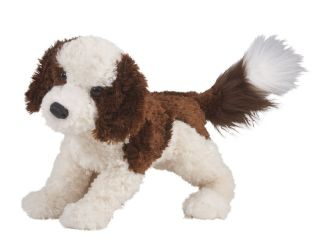 DOUGLAS 16 Labradoodle Dog stuffed plush Furry Animal 1995 FREE