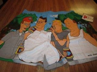 Official MTV KING of the HILL Mens NEW Boxer Shorts Large Beer