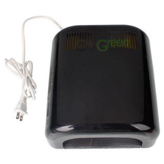 Gel Acrylic Curing Nail Polish Timer Dryer Lamp Light Spa Kit Black#4