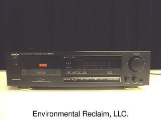 Denon Stereo Cassette Deck Tape Player Recorder DRM 500