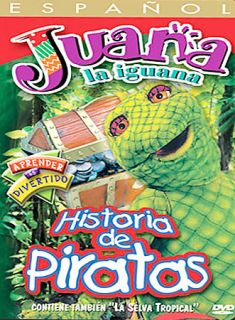 Historia de Piratas DVD, 2003, Spanish Language Version Only