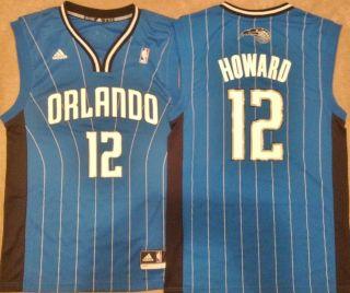Dwight Howard Orlando Magic Blue Mens Jersey Revolution 30 Replica