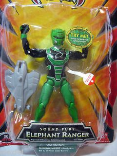 POWER RANGERS JUNGLE FURY SOUND FURY ELEPHANT RANGER FIGURE 6 INCH