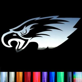 Philadelphia Eagles 11 Logo Chrome Film Auto Car Window Stickers