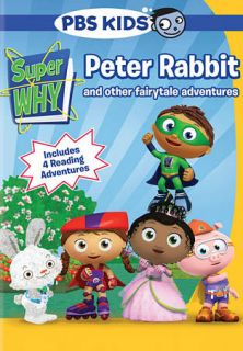 Super Why Peter Rabbit and Other Fairytale Adventures DVD, 2010
