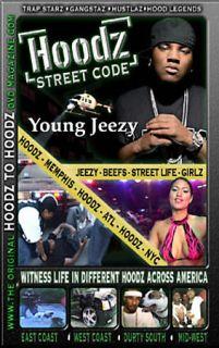 Hoodz Street Code   Young Jeezy DVD, 2006