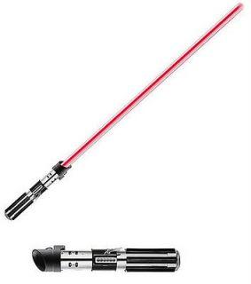 Removable Blade   Darth Vader Lightsaber Red Hasbro Star Wars Force FX