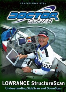 Doctor Sonar educational dvd Lowrance Structure Scan