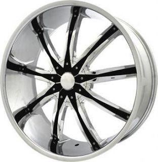 22 inch Elr20 Chrome wheels rims Cadillac Deville DTS