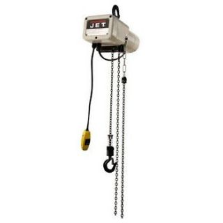 JET JSH 550 10 1/4 Ton Capacity 10 ft Lift Electric Hoist 110110 NEW