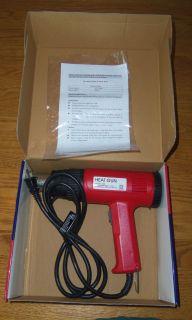 ELECTRIC 2 SPEED HEAT GUN 750W LOW 1500W HIGH STRIPPING SHRINK