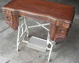 antique sewing table in Sewing (Pre 1930)