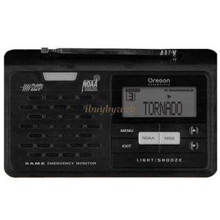 Oregon Scientific WR608 Desktop Weather Emergency Alert Radio NEW