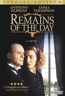 Remains of the Day DVD, 2001
