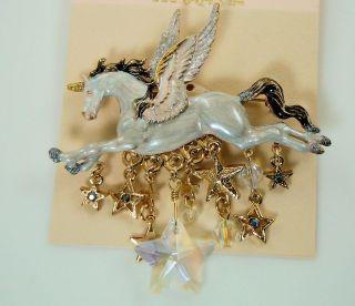 Kirks Folly Stardancer Unicorn Pegasus Pin
