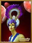 CHARISMATICO PURPLE GOLD LADYBOY ARABIAN Feather TRANSVESTITE PAGEANT