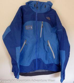Face FREE THINKER Gore Tex 3L Pro Shell Ski Patrol Jacket M Blue Enzo