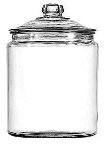 NEW* Half Gallon Glass Apothecary Jar Canister Cookie