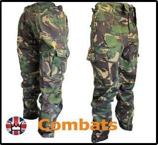 Mens Army Combat Work Trousers Pants Combats Cargo DPM
