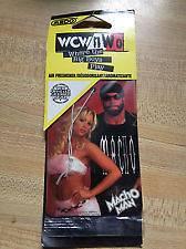 New NWO WCW Macho Man Randy Savage Air Freshener wwf wwe tna Rare Vhs