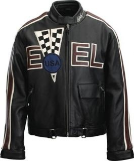 evel knievel leather jacket in Clothing,