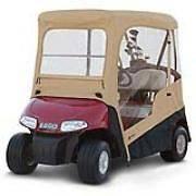 EZGO Golf Cart Enclosure w/ Zip Off Windshield & Carrying Case