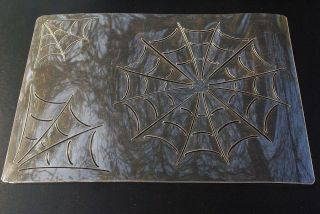 Spiderweb Stencil Airbrush Painting Art Card making Paper Craft A4