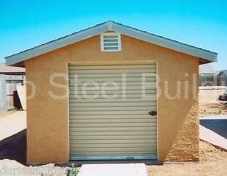 Duro Steel New 24x24x11 Factory DiRECT Garage Workshop Metal Building