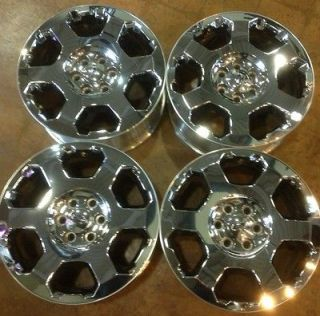 Ford F150 Expedition FX4 Platinum Chrome Clad OEM Wheels FACTORY STOCK