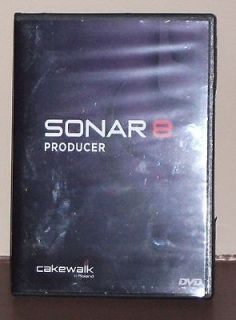Cakewalk Sonar 8 Producer Edition DVD plus tutorial