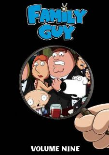 Family Guy, Vol. 9 DVD, 2011, 3 Disc Set