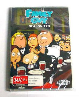 family guy season 10 in DVDs & Blu ray Discs