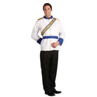 Adult Large Prince Charming Outfit Fancy Dress Costume Mens Gents Male